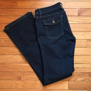 Super cute flap pocket Banana Republic Jeans